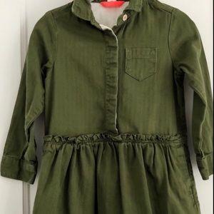 Crewcut Shirt Dress